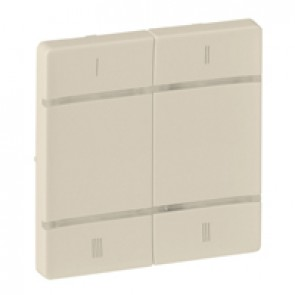 Cover plate for wireless scenario control Valena Life - 4 push-buttons - ivory