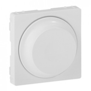 Cover plate Valena Life - rotary dimmer without neutral - white