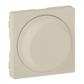 Cover plate Valena Life - rotary dimmer without neutral - ivory