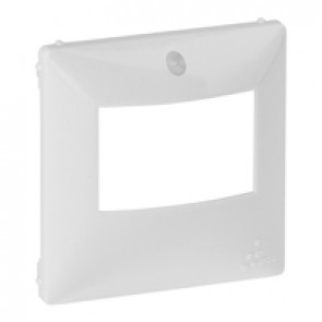 Cover plate Valena Life - motion sensor without override - white