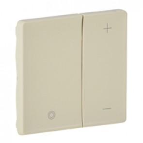 Cover plate Valena Life - universal + for 1-10 V ballast dimmer - ivory