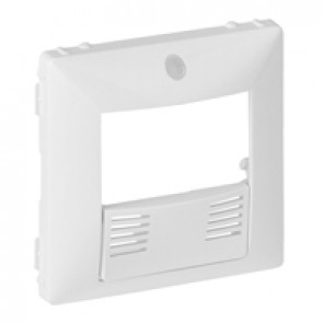 Cover plate Valena Life - dual technology presence sensor - white