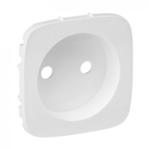 Cover plate Valena Allure - 2P socket - white