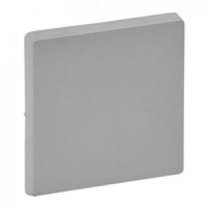 Cover plate Valena Life - 1-gang - aluminium