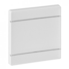Cover plate Valena Life - without marking - 2 modules - white