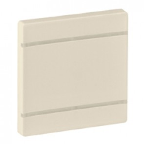 Cover plate Valena Life - without marking - 2 modules - ivory
