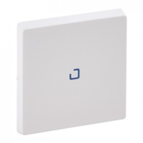 Cover plate Valena Life - 1-gang illuminated / with indicator - white