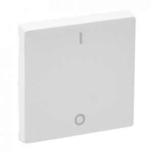 Cover plate Valena Life - double-pole switch - white