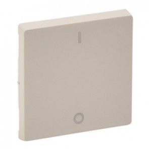 Cover plate Valena Life - double-pole switch - ivory