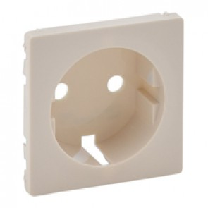 Cover plate Valena Life - 2P+E socket - German standard - ivory