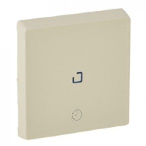 Cover plate Valena Life - time delay switch - ivory