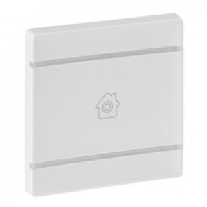 Cover plate Valena Life - GEN marking - 2 modules - white