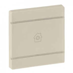 Cover plate Valena Life - GEN marking - 2 modules - ivory