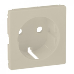 Cover plate Valena Life - 2P+E easy-wire socket - German standard - ivory