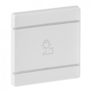 Cover plate Valena Life - regulation symbol - 2 modules - white