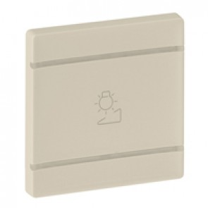 Cover plate Valena Life - regulation symbol - 2 modules - ivory
