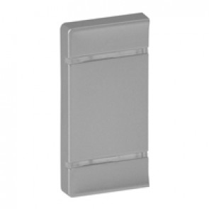 Cover plate Valena Life - without marking - either side mounting - aluminium