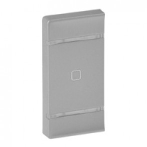 Cover plate Valena Life - shutter STOP marking - either side mounting - aluminium