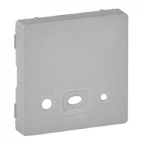 Cover plate Valena Life - bluetooth modules - aluminium