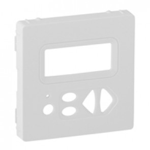 Cover plate Valena Life - local control with display - white