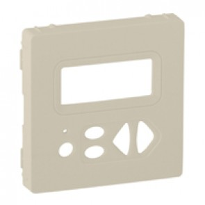 Cover plate Valena Life - local control with display - ivory