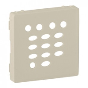 Cover plate Valena Life - tuner and intercom extension - ivory