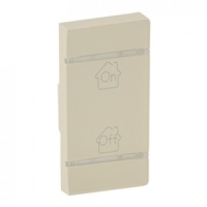 Cover plate Valena Life - GEN/ON/OFF marking - right-hand side mounting - ivory