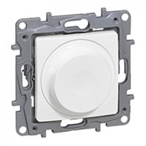 Rotary dimmer Niloé - 300 W- 2-wire - white