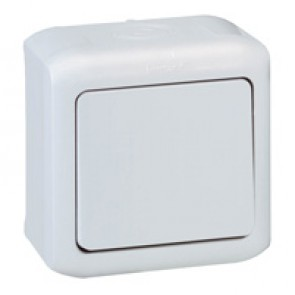 Two-way switch Forix - surface mounting - 10 AX 250 V~ - grey