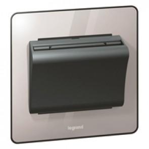 Key card switch Synergy 230 V~ - Sleek Design polished stainless steel