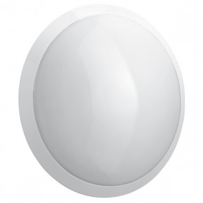 Chartres Infini LED round decorative bulkhead light - IP55 - IK10 - equipped - with microwave sensor