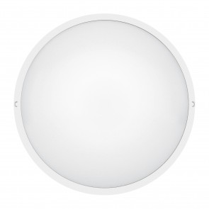 Astreo LED round decorative bulkhead light - IP44 - IK07 - equipped - 800 lm - On/off