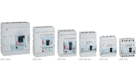DPX moulded case circuit-breakers up to 1600 A